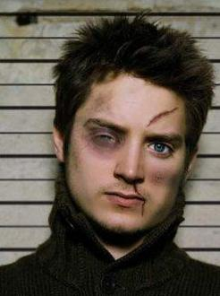 Elijah Wood beaten