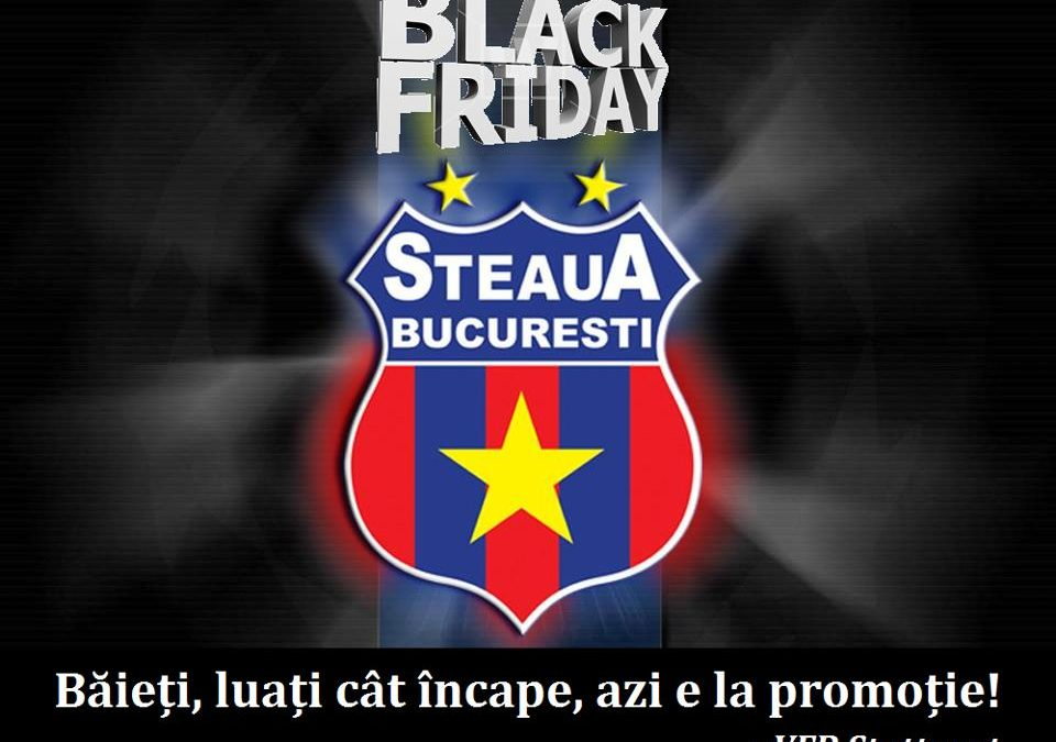 Black Friday în fotbalul românesc