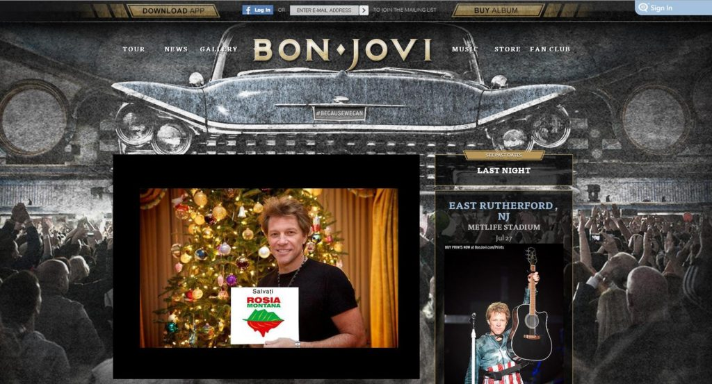 bon jovi website