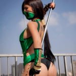 Mortal Kombat Jade cosplay