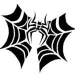 spider bat pumpkin carving template