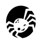 spider pumpkin carving template