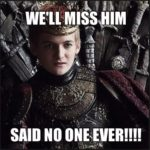 game of thrones season 6 meme king joffrey
