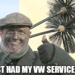 Just had my VW serviced