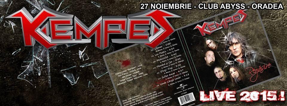 Concert Kempes din nou in Oradea