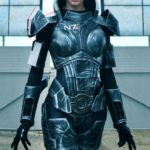 Femshep Cosplay Mass Effect by Angela Bermudez