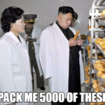 kim jong un wants a lot of food