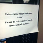 no cups funny-stupid-signs-useless-pointless-