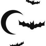moon-and-bats-pumpkin-carving-pattern