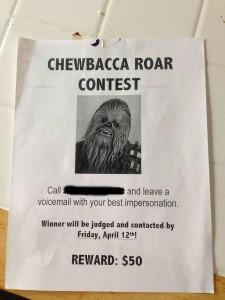 april-fools-day-pranks-chewbacca-roar-contest